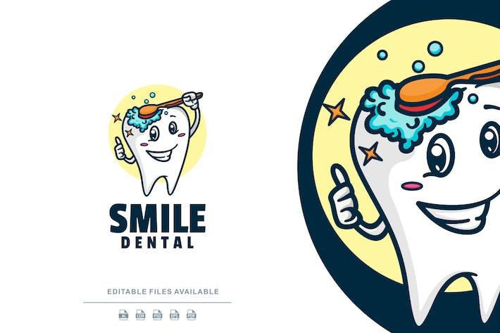 Dental Cartoon Logo