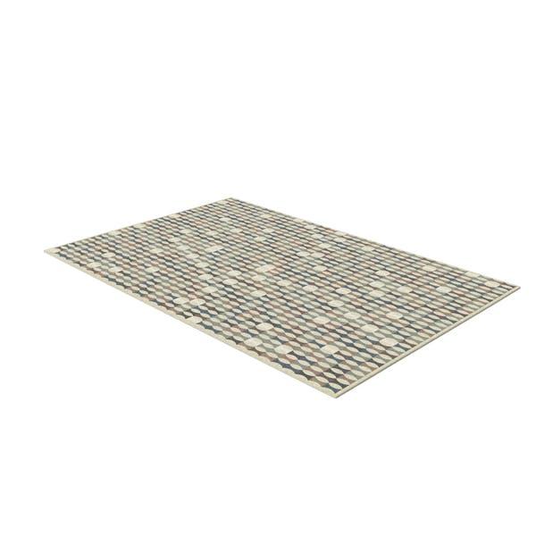 Geometrischer Teppich rechteckig