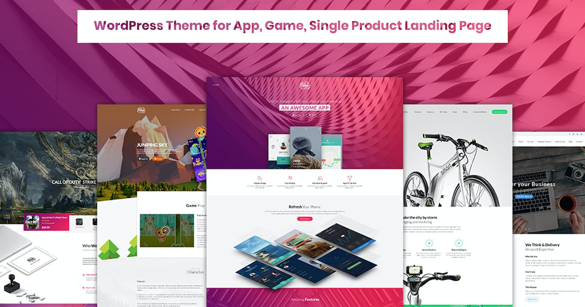 Download Riven - App, Game, Single Product Landing Page by ArrowHiTech