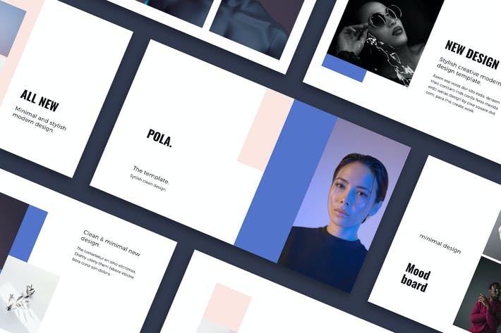 Thumbnail for POLA - Powerpoint Design Template