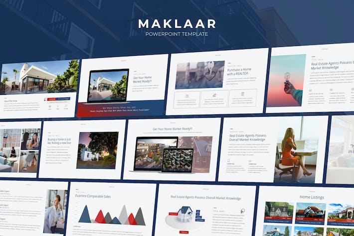 Maklaar - Property Business Powerpoint Template