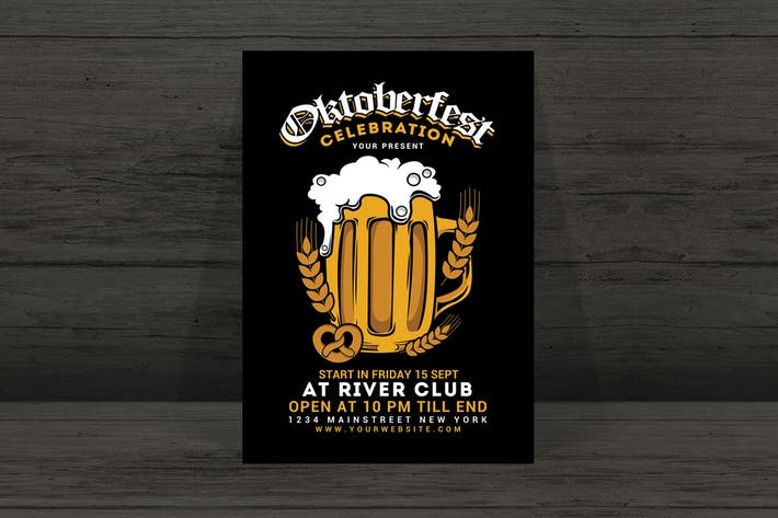 Thumbnail for Oktober Fest Flyer