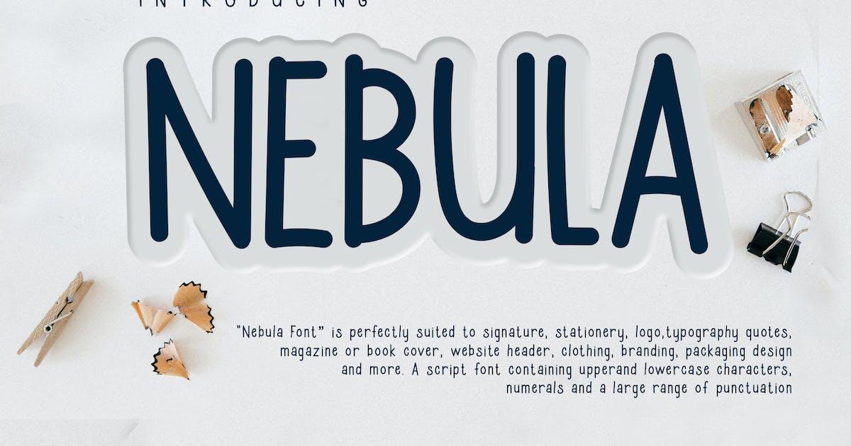Download Nebula Casual Handwriting Font by naulicrea