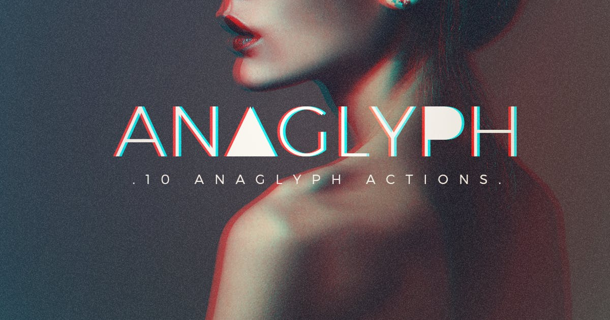 Download Anaglyph Photoshop Actions by micromove