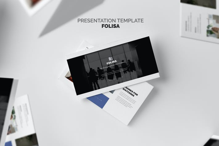 Thumbnail for Folisa : Coworking Workspace Business Powerpoint