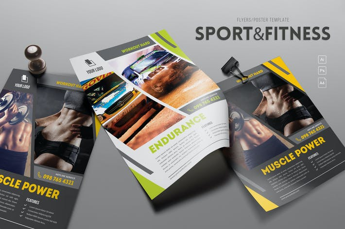 Thumbnail for Sport & Fitness Flyer
