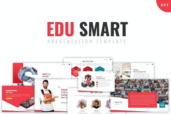Thumbnail for Edu Smart - Шаблон Powerpoint