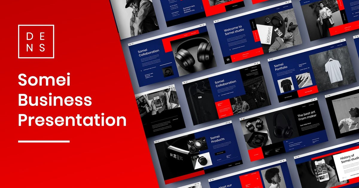 Download Somei – Business PowerPoint Template by DensCreativeStudio