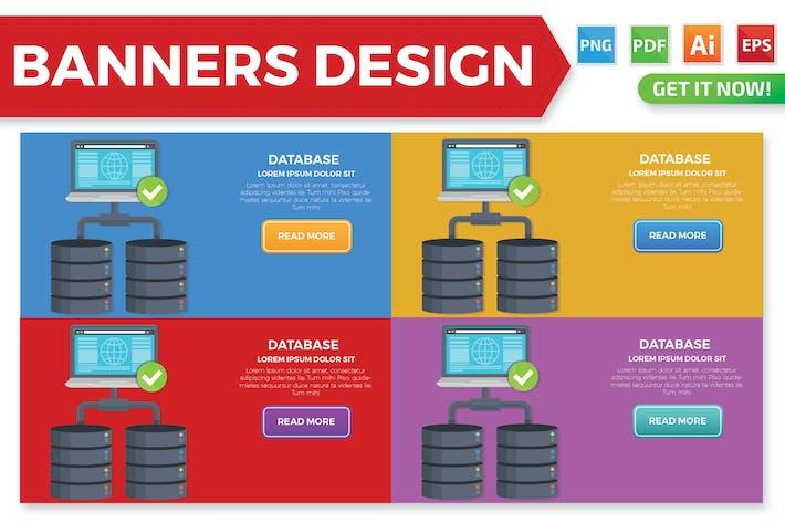 Thumbnail for Дизайн баннер базы данных