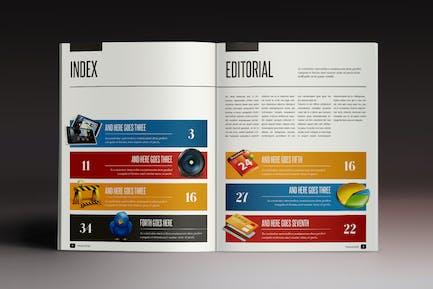 Design Magazine 2 Indesign Template