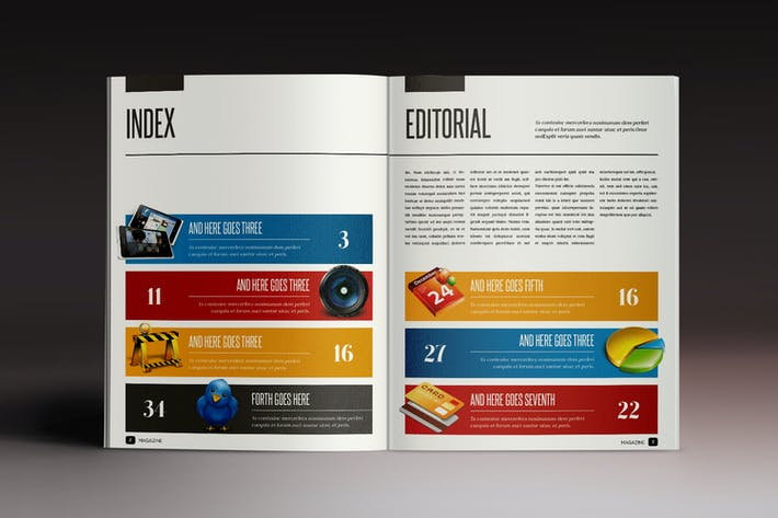 Thumbnail for Design Magazine 2 Indesign Template