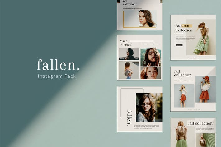 Cover Image For Fallen - Instagram Pack