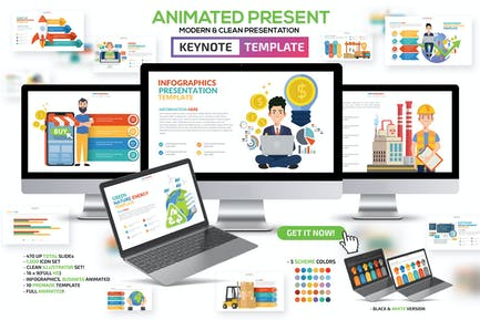 Animated Keynote Template