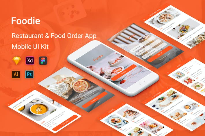 Thumbnail for Foodie - Food Delivery Mobile App
