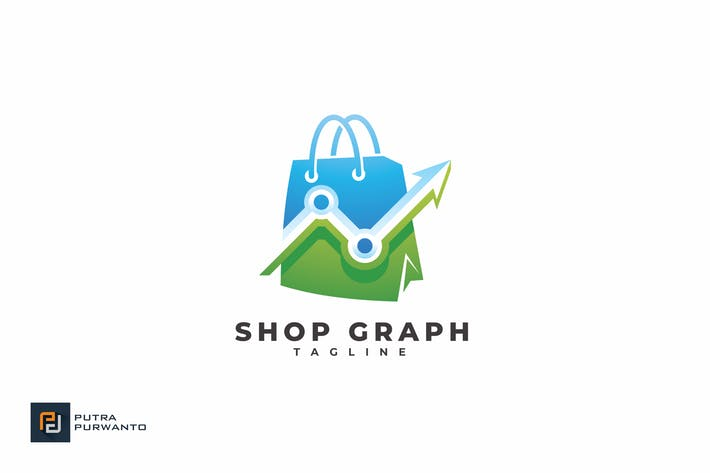 Thumbnail for Shop Graph - Logo Template