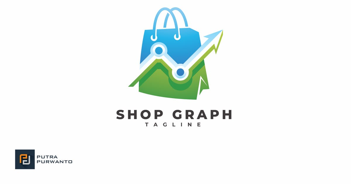 Download Shop Graph - Logo Template by putra_purwanto
