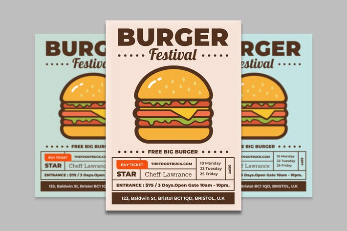 Thumbnail for Food Flyer 2