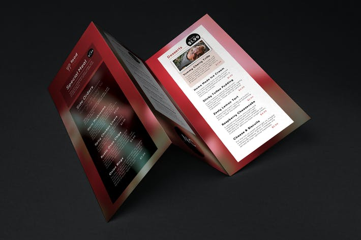 Thumbnail for Nightclub Food Menu Template