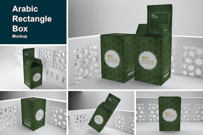 Thumbnail for Arabic Rectangle Box Mockup