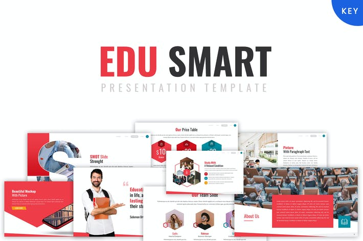 Thumbnail for Edu Smart - Шаблон Keynote