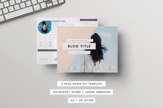 media press kit template live freely by cokocreates on envato