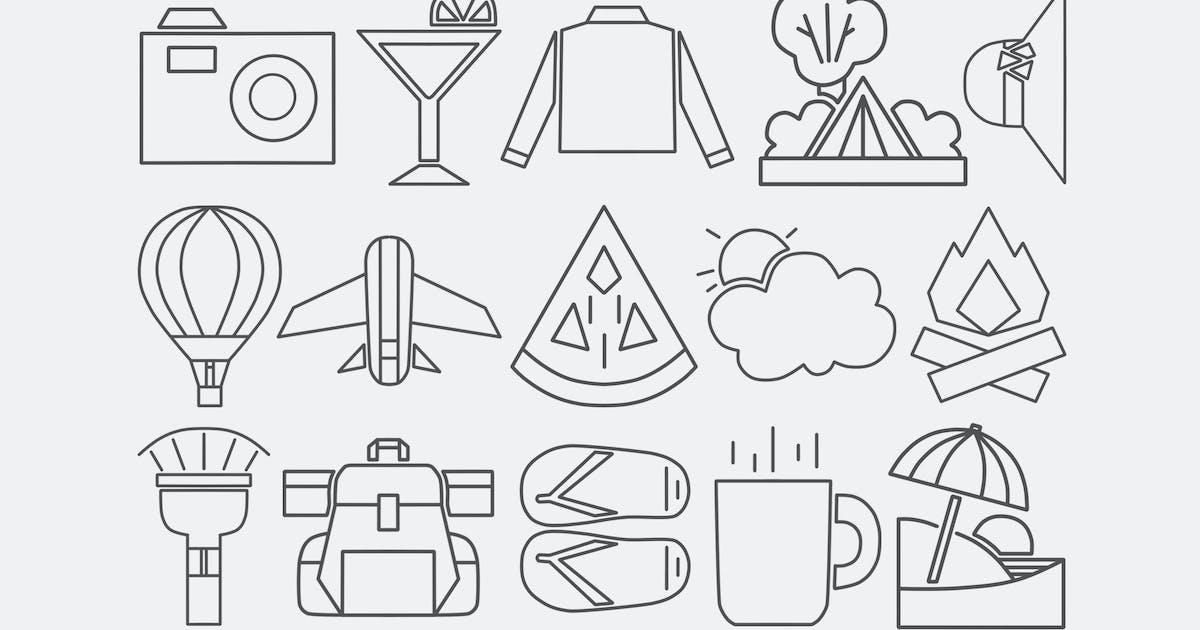 Download Travel Shapes Doodles by Jumsoft