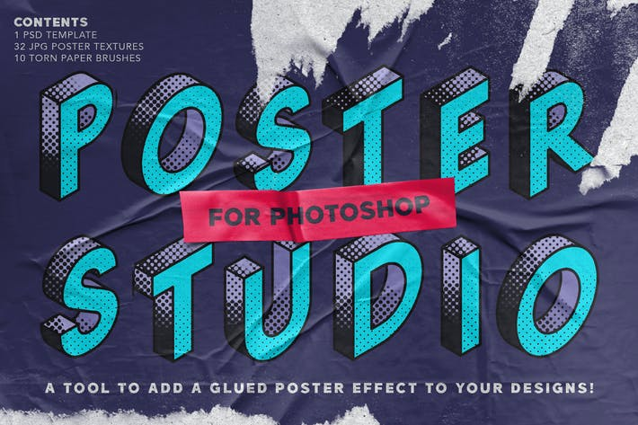 Thumbnail for Poster Studio for Photoshop
