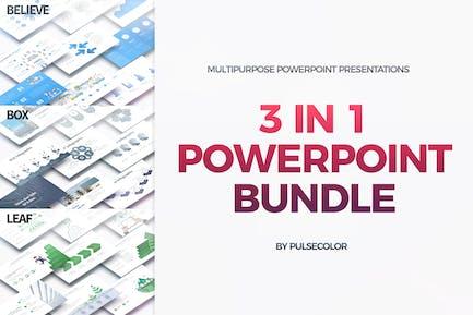 BUNDLE 3in1 - Multipurpose PowerPoint Presentation