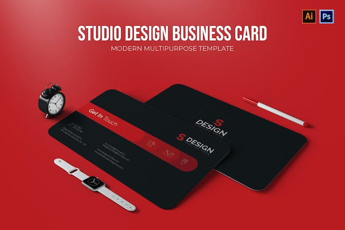 Thumbnail for Studio Design - Business Card