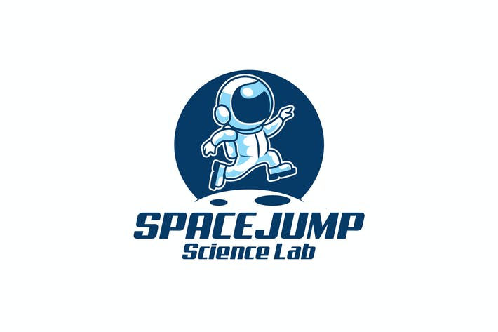 Thumbnail for Astronaut Space Jump Logo