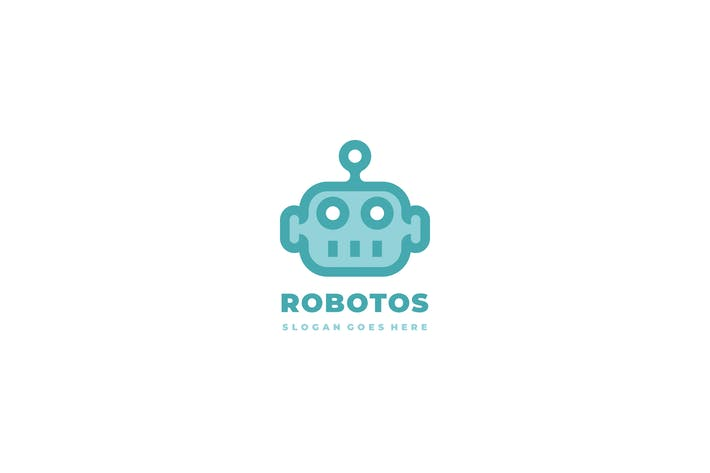 Thumbnail for Robot Head Logo