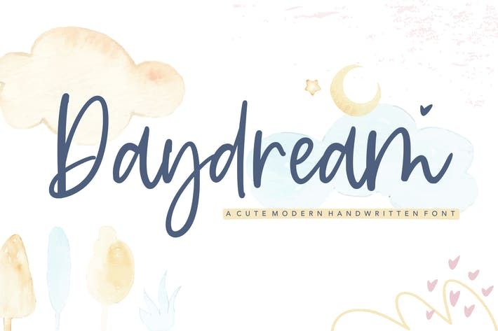 Cover Image For Daydream Script Fuente YH