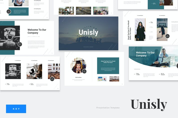 Cover Image For Unisly - University Education Keynote Template