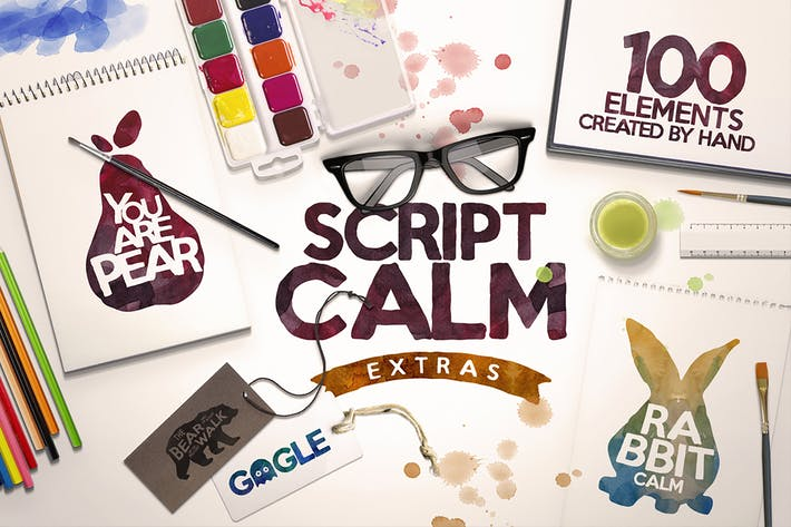 Thumbnail for Script Calm + 100 Elements