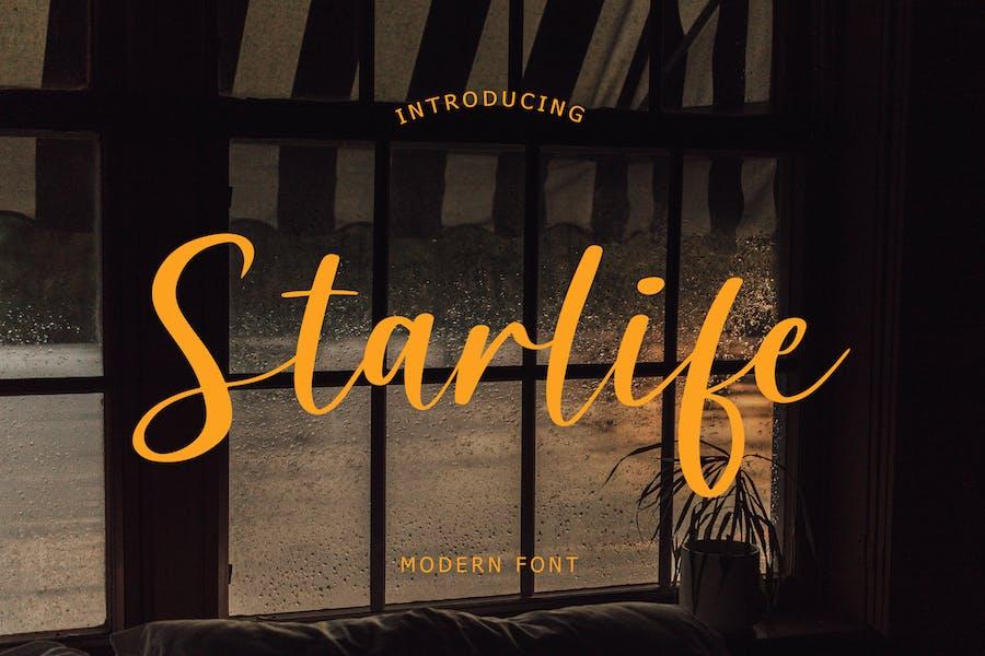 Starlife Modern Font