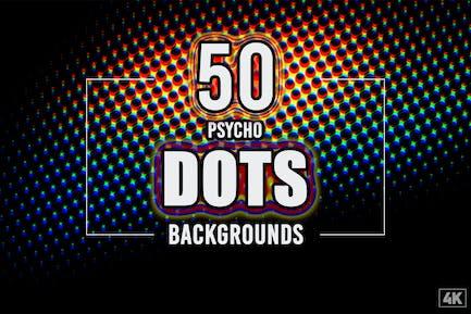 50 Psycho Dots Hintergründe