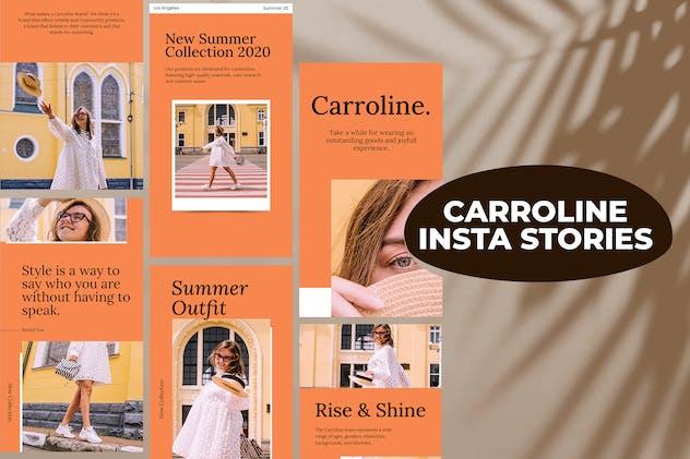Carroline Instagram Stories Template
