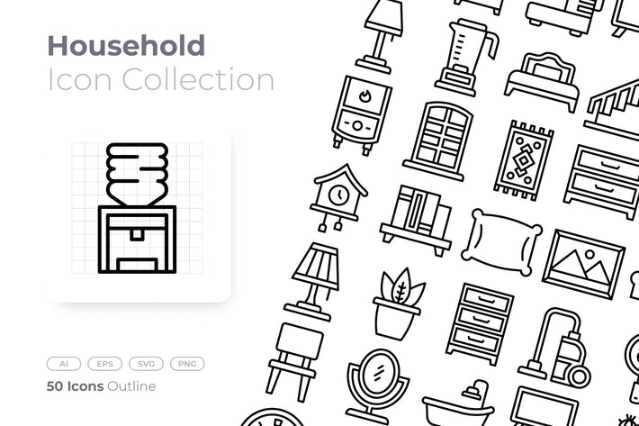 Thumbnail for Household Outline Icon