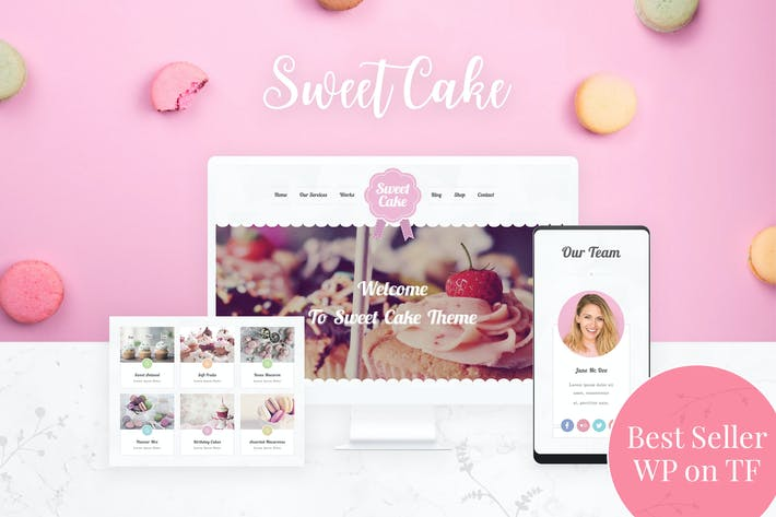 Thumbnail for Bakery WordPress Theme