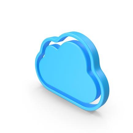 Значок облачной веб-страницы