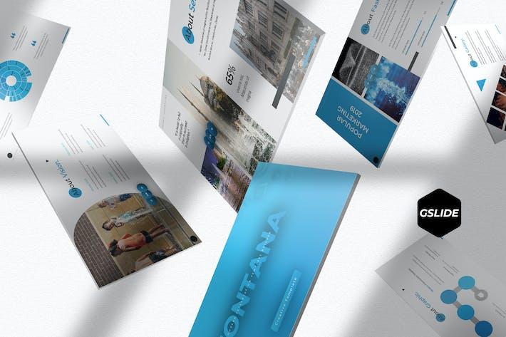 Thumbnail for Fontana - Google Slides Template