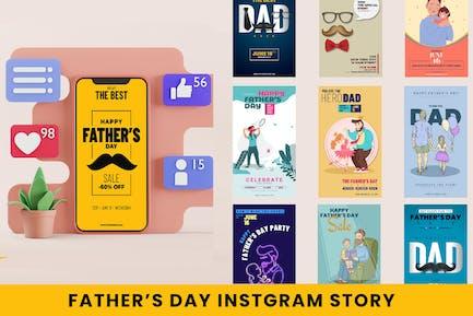 Histoires Instagram Fête des Pères