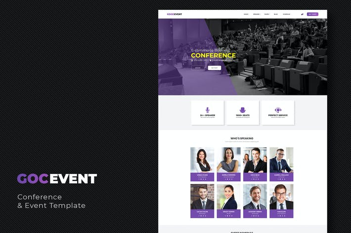 Thumbnail for GocEvent - Event and Conference