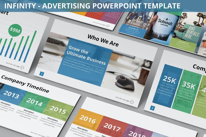 Thumbnail for Infinity - Advertising Powerpoint Template