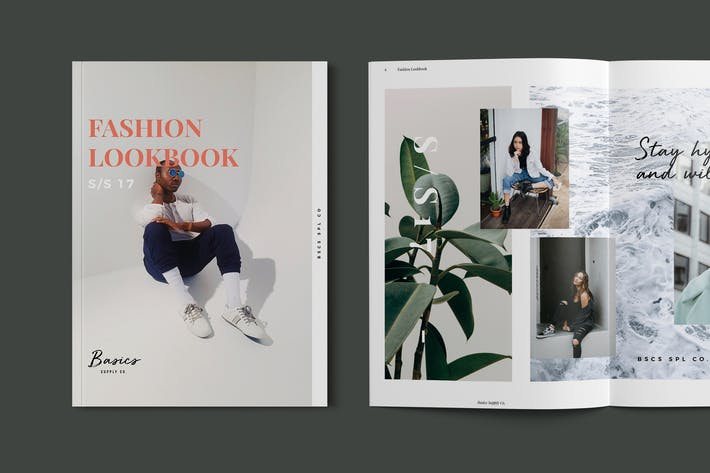 Thumbnail for Fashion Lookbook / Catalog Template