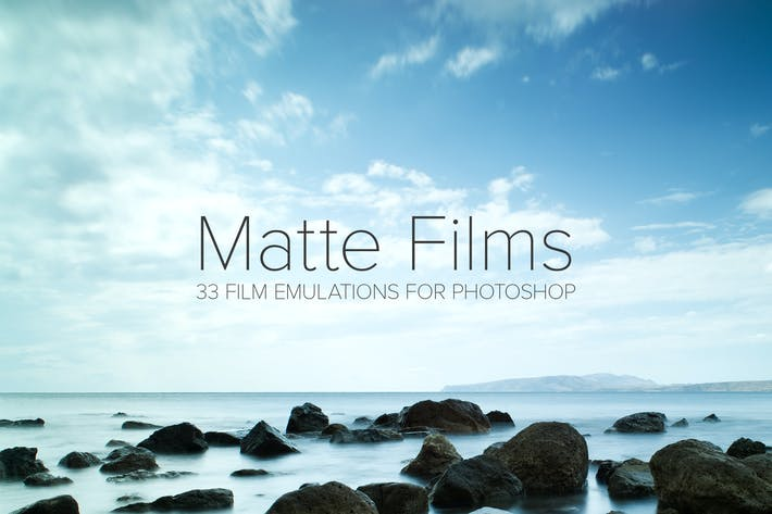 Thumbnail for 33 Matte Film Emulation Actions