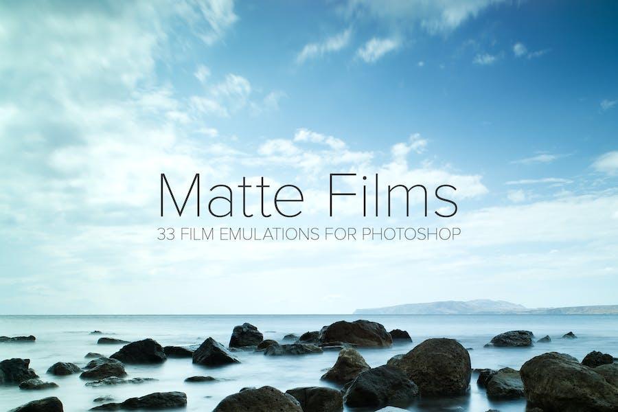 33 Matte Film Emulation Actions