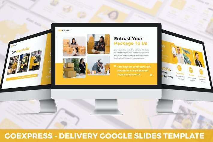 Thumbnail for GoExpress - Delivery Google Slides Template