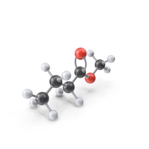 Thumbnail for Methyl Butyrate Molecule