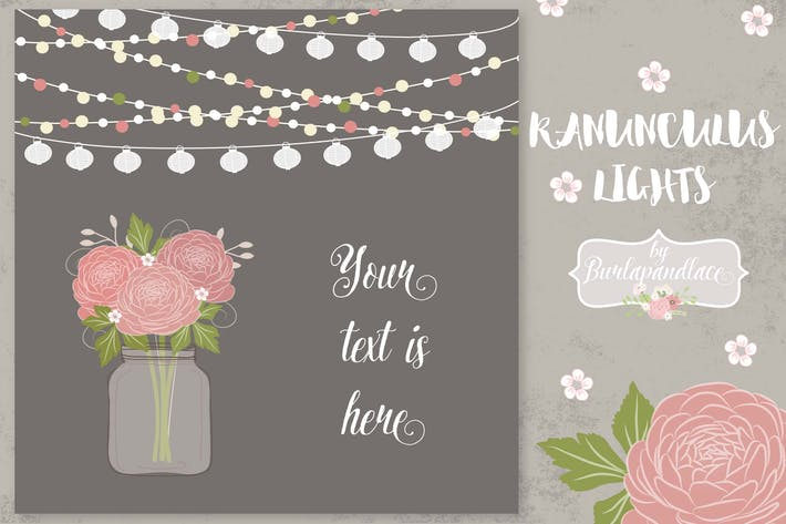 Thumbnail for Ranunculus flower invitation
